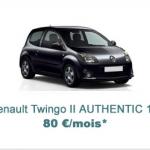renault twingo leasing