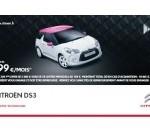 DS leasing 199€/mois avec apport