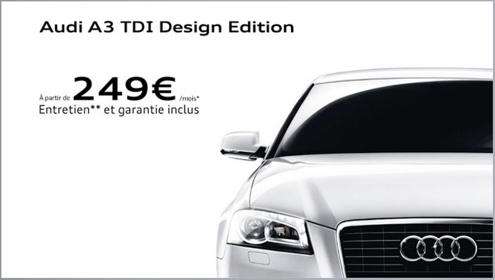 audi a3 leasing sans apport. leasing audi a3 location longue dur e